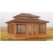 Садовый домик 6х4 модель СД-06
